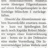 Spielbericht: TSV Allach – TSV Altomünster