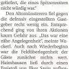 Spielbericht: SV Haimhausen – TSV Altomünster