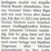 Spielbericht: TSV Altomünster – TSV Allach 09