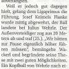 Spielbericht: SV Petershausen – TSV Altomünster